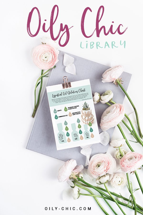 Join the Oily Chic Library for trending essential resources and printable tools!