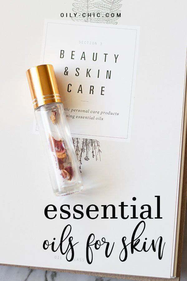 It's so easy to incorporate essential oils for the skin into your daily skin care routines.