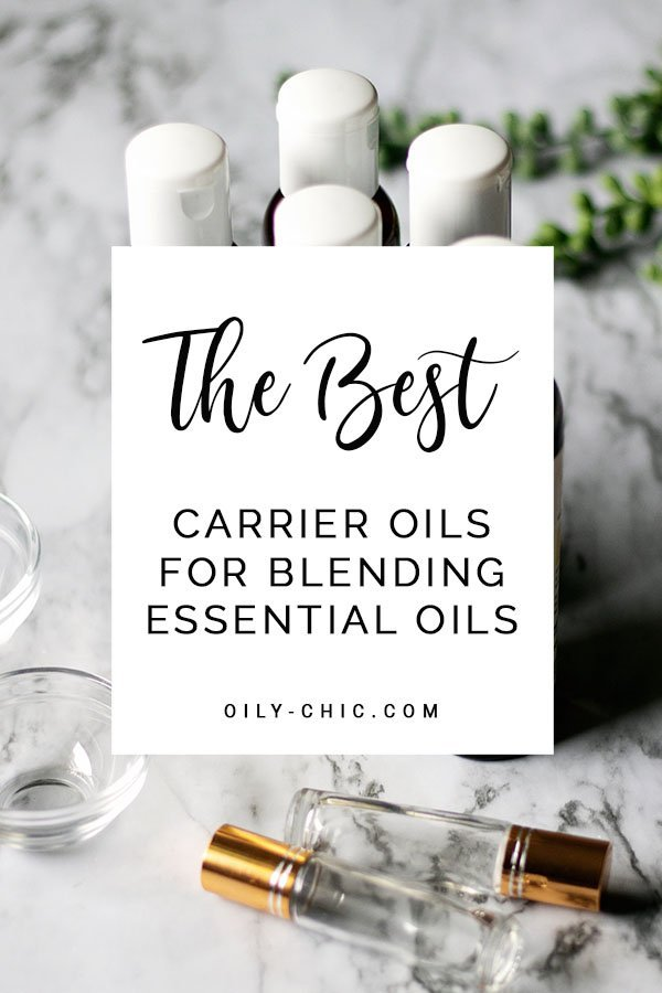 The best carrier oils for essential oil blending are derived from plants and have little to no aroma. They also bring to an essential oil blend their own benefits such as  balancing sebum oil production like jojoba oil or intense moisturizing like coconut oil.