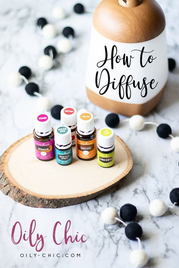 How to diffuse essential oils with or without a electronic diffuser