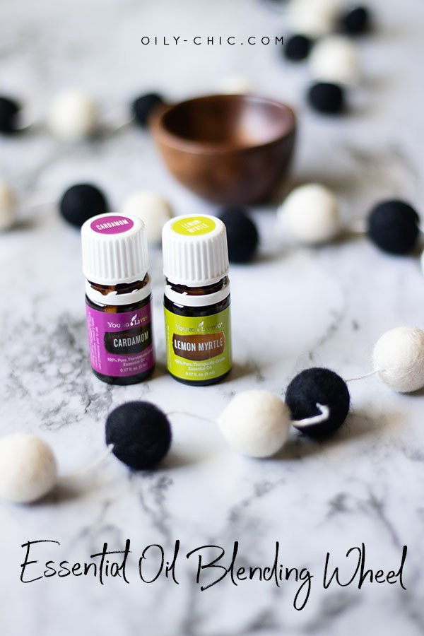 Make the best smelling essential oil blends with an essential oil blending wheel.