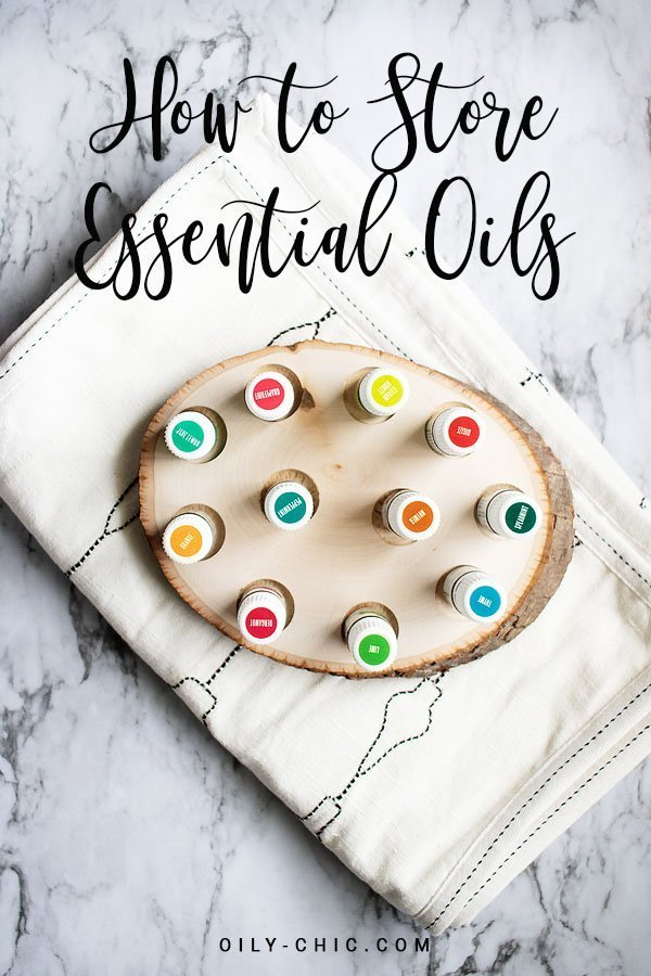 Following these easy essential oil storage ideas and guidelines will ensure that your essential oils will last as long as you need them while protecting their longevity and investment.
