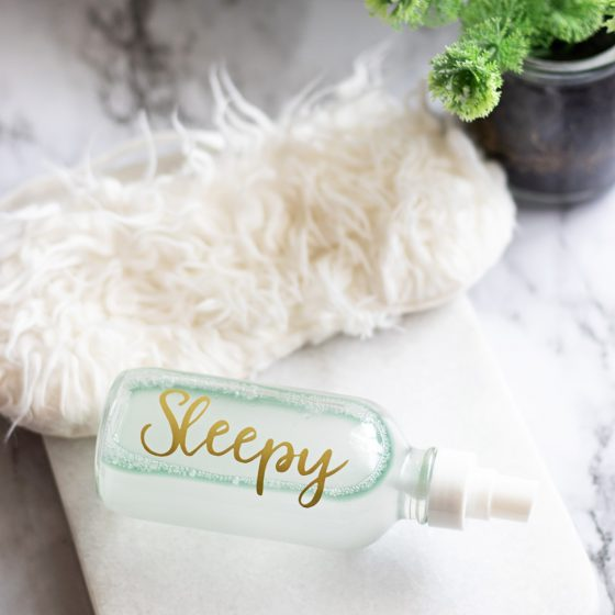 Essential oils are one of best things to help you fall asleep fast! And the easiest way to use essential oils for sleep is in a pillow spray for sleep.