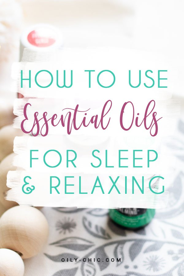 Trouble sleeping? Grab these tips on how to use these essential oils for sleep & relaxation to help you fall asleep fast or wind down at the end of the day.