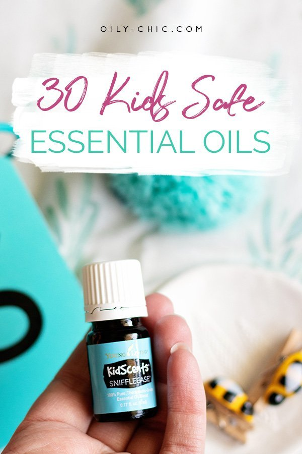 While there are many essential oils for kids this list of 30 is great place to start!