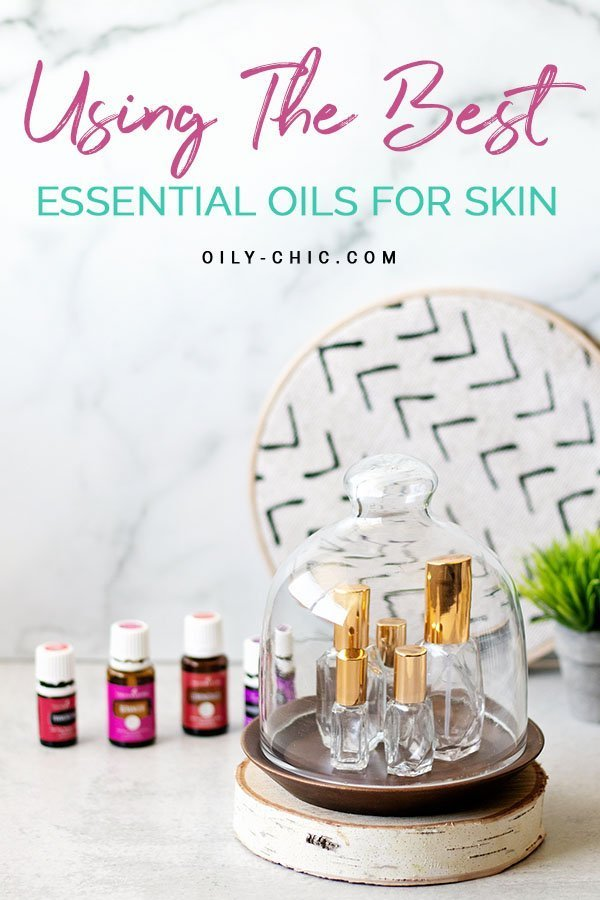 If you're struggling with skin care issues look no further than what nature has already provided us - essential oils for the skin!  Learn how to use essential oils for your skin type.
