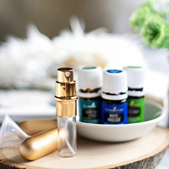A simple, quick full-proof method to make DIY essential oil perfume spray with only five ingredients. It doesn't get much easier than that! I don't know about you but simplicity is huge for me